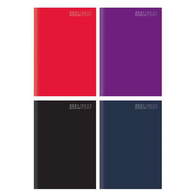 £3.40 • Buy 2021-2022 A4/A5 Academic Student Teacher One Week To View Diary Case Bound Cover