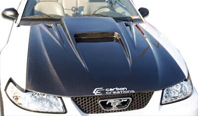 $571 • Buy 1999-2004 Ford Mustang Carbon Creations Spyder 3 Hood 102722