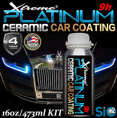 $239.95 • Buy Ceramic Car Coating 9h Paint Sealant Wet Look High Gloss Hydrophobic Protection