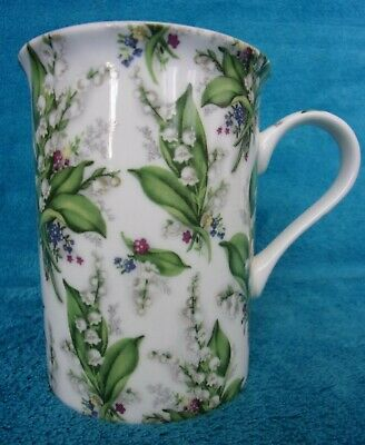 £5.99 • Buy HERON CROSS POTTERY Lily Of The Valley FLOWER/FLORAL MUG/CUP Vgc