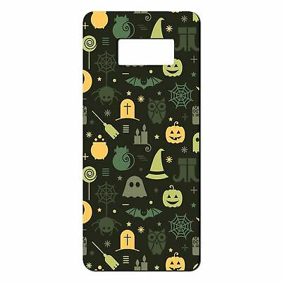 $ CDN11.92 • Buy For Samsung Galaxy S8 Silicone Case Halloween Pattern - S4017