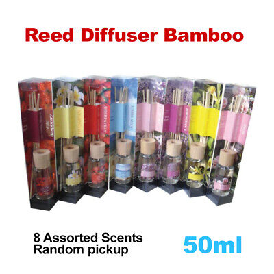 AU6.49 • Buy Reed Diffuser Bamboo 50ml Assorted Scents Aroma Home Decor