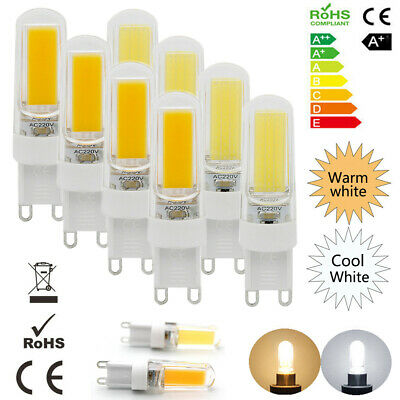 AU17.99 • Buy 8xG9 LED 5W Dimmable Capsule Bulb Replace Halogen Light Lamps AC 220-240V