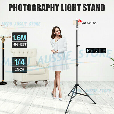 AU15.89 • Buy Photography 56-160cm Light Stand Tripod For Studio Flash Umbrella Lighting Video