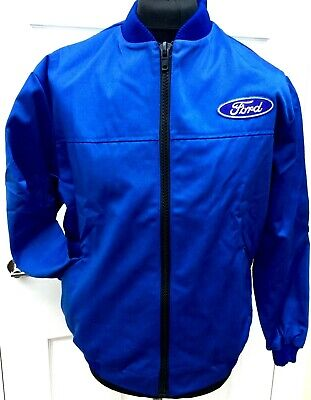 £17 • Buy Classic Fully-Lined Ford Badge Bomber Rally BTCC Motorsport Jacket 50-52  Chest