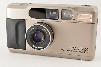 $ CDN1306.46 • Buy [Mint] CONTAX T2D T2 D Point & Shoot 35mm Film Camera W/ Data Back From Japan