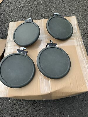 AU90.09 • Buy Free P&P. Set Of 4 Roland PD-6 Drum Pads. PD6. For Electronic Drum Kit. SD10168