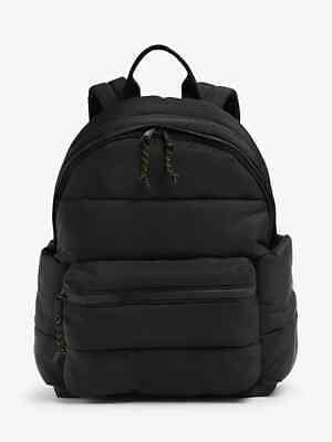AU18.01 • Buy John Lewis KIN Nyssa Nylon Water Resistant Backpack Black New