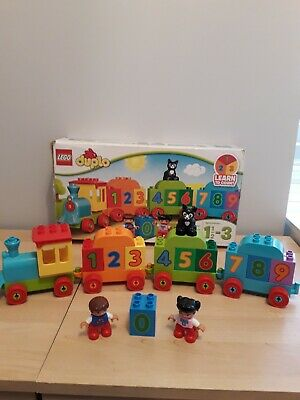 AU10.78 • Buy Lego Duplo Number Train 10847 Boxed & Complete.
