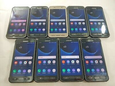 $ CDN213.67 • Buy LOT Of 9 Samsung Galaxy S7 Active G891A GSM Unlocked Smartphone Assorted  #A063L
