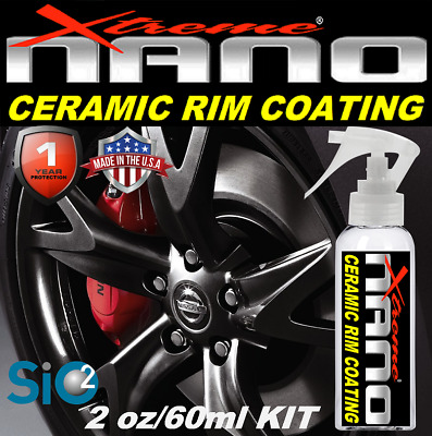 $21.95 • Buy Nano Ceramic Car Coating Brake Dust Stain Rim Wheel Pro Grade Si02 Protection