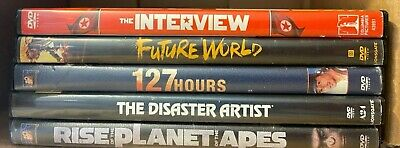 AU6.56 • Buy 5 James Franco Movies On DVD (Interview, Future World, 127 Hours, Disaster Arti)