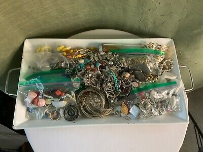 $ CDN18.83 • Buy Jewelry Lot 0301 Vintage-Modern Mostly Craft, Repairable & Wearable Over 7.8lbs