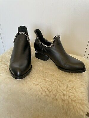 AU50 • Buy Alexander Wang Genuine Leather Ankle Boot Size 6 AU