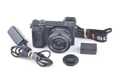 AU1340.50 • Buy MINT- SONY A6300 24.2MP MIRRORLESS W/16-50mm F3.5-5.6, 2 BATTS, ONLY 688 ACTS!!!
