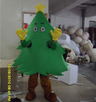 Xmas Tree Mascot Adult Size Christmas Costume Party Dress Outfit Cosplay Outfits • 182.36£
