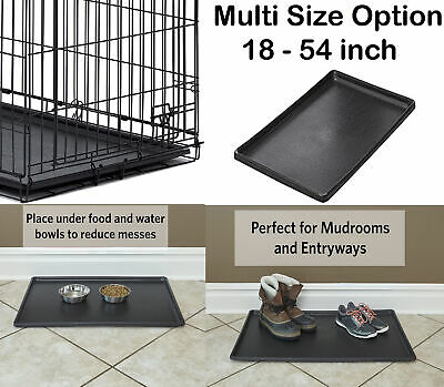 AU76.26 • Buy 24 Inch Pet Folding Dog Crate  Cage Kennel Plastic Pan Tray Floor NEW