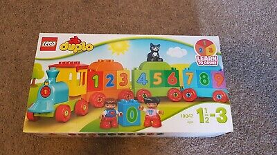 AU20 • Buy Duplo Train Learn To Count 10847 Box Damaged