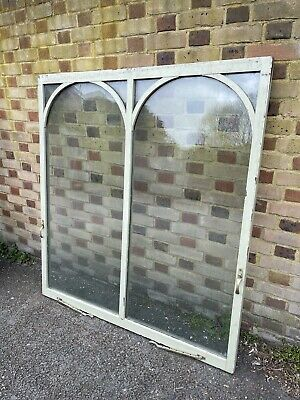 £200 • Buy Reclaimed Old Arch Double Glazed Wooden Window Ideal For Shed Or New Extension