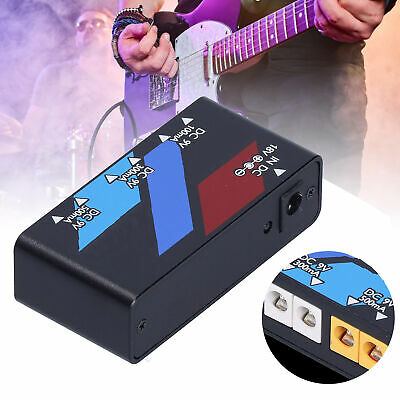$ CDN42.02 • Buy Pedal Power Supply Guitar Effect Board Short Circuit Protection For Guitarists