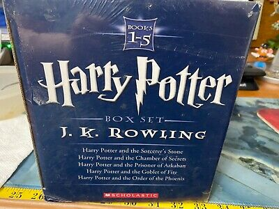 $ CDN81.24 • Buy Harry Potter The Most Extraordinary Collection Box Set Books 1-5