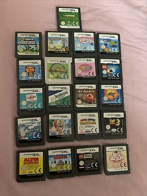 AU18 • Buy Nintendo Ds Games Cart Only X 21