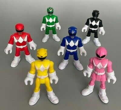 £32 • Buy Fisher Price IMAGINEXT Power Rangers Full Set Of 6x Figures With Accessories