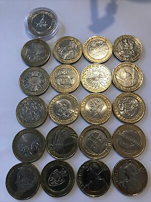 21 X £2 Coins Two Pound Coin Job Lot Bundle 2 Pounds Inc Olympic Set Of 3 Inc Na • 70£