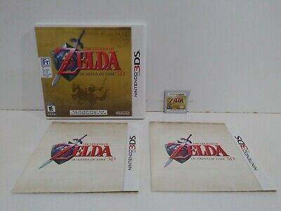 AU26.20 • Buy Nintendo 3DS The Legend Of Zelda: Ocarina Of Time 3D Authentic Tested Works