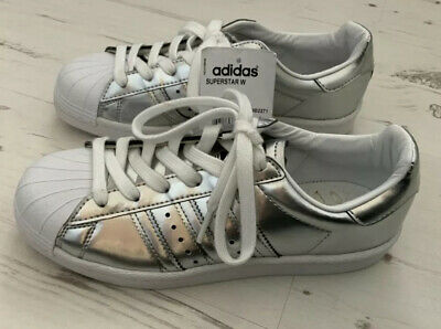 AU71.13 • Buy Adidas Superstar Boost W - Womens Sneakers Silver - Adidas Originals Size 4/37