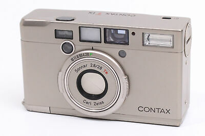 $ CDN262.45 • Buy [EXCELLENT] Contax T Ix Carl Zeiss Sonnar 28mm F/2.8 (4847)