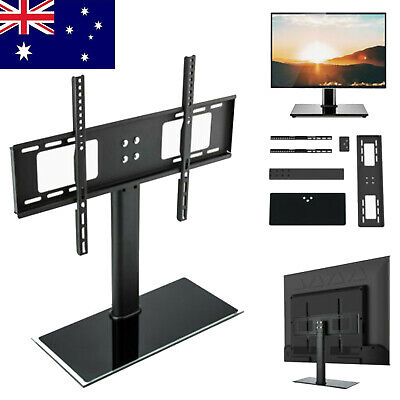 AU27.23 • Buy Universal TV Stand With Mount Pedestal Base For 30 -65  Sharp LG Sony TV LCD LED