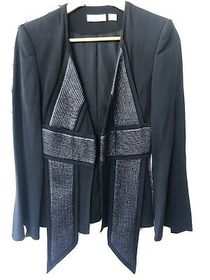 AU50 • Buy Sass And Bide Black Blazer Size 6