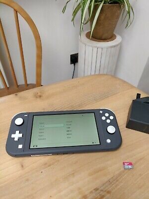 AU260.98 • Buy Nintendo Switch Lite Grey Handhled System Excellent Condition Hardly Used