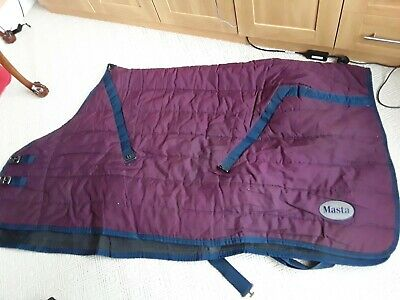 Masta Stable Rug 5ft 9in Used • 15£