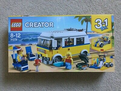 LEGO Creator 31079 Sunshine Surfer Van, 3 In 1 Set NEW Fast Dispatch In Box • 43.99£