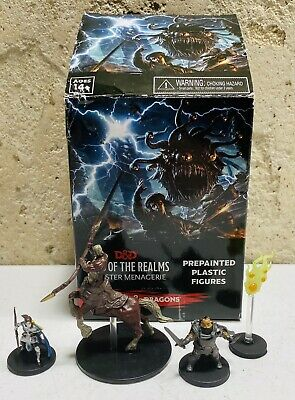 AU21.38 • Buy Dungeons Dragons Monster Menagerie Icons Of The Realms 4 Miniature LOT D&D Wiz