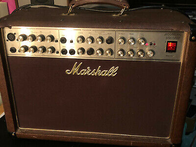 $ CDN288.22 • Buy Marshall AS80R Acoustic Soloist Guitar Amp. Powers ON But Not Tested Any Further