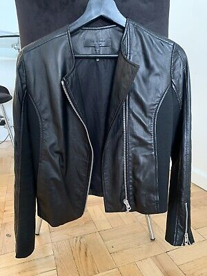 AU192.59 • Buy Rag And Bone Leather Jacket 0