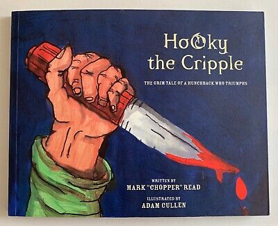 AU850 • Buy Hooky The Cripple By Mark  Chopper  Read, Adam Cullen (PB, 2002)