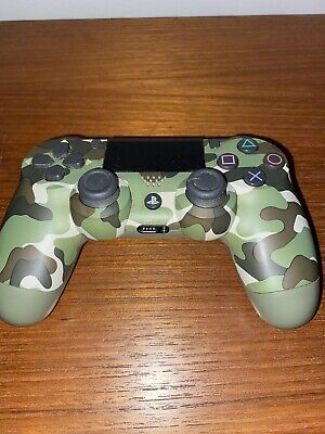 Official Camouflaged PS4 Playstation 4 Dual Shock Wireless Controller • 32£