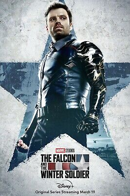 £13.42 • Buy Falcon And The Winter Soldier TV Poster (24x36) - Mackie, Sebastian Stan V2
