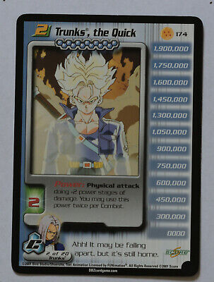 AU15.48 • Buy Dragon Ball Z DBZ CCG TCG 174 Trunks The Quick LV2 2001
