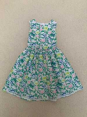 AU4.51 • Buy John Lewis Green Floral Girls Smart Summer Dress, Age 10 Years