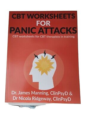 £13 • Buy CBT Worksheets For Panic Attacks: CBT Worksheets For CBT Therapists In Training…