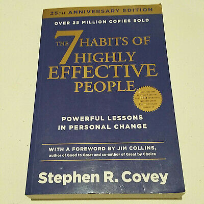 AU19.95 • Buy The 7 Habits Of Highly Effective People: Powerful Lessons By Stephen R. Covey