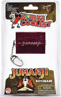 £9.99 • Buy Novelty Miniature Jumanji Board Game Keychain Contains Magnetic Pieces And Dice