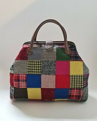 CATH KIDSTON - Limited Edition SOLD OUT - Patchwork Doctors Bag With Leather... • 35£