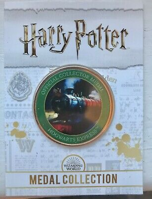 NEW Official Harry Potter Medal, HOGWARTS EXPRESS , BRAND NEW. • 3£