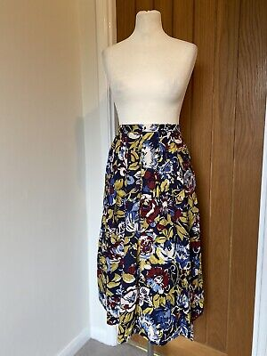 Cotswold Collection 100% Cotton Floral Skirt Size 12  • 12£